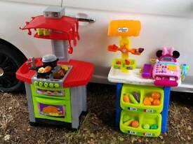 Kitchen, market stool and minie register