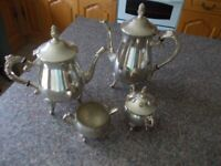 Vintage Mint silver plated tea/coffee set very good condition