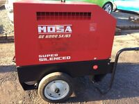 SUPER SILENT MOSA GENERATOR 6000 KVA - EXCELLENT CONDITION - RARELY USED