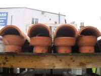 Chimney Pot Caps / Cowls, Like Brand New they are £25 each. **Bargain Price**