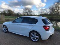 BMW 1 series M sport M120D white