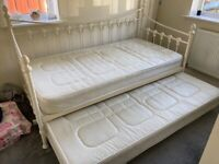 Julian Bowen hand crafted day bed and Trundle.