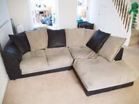L-shaped Sofa - super comfy & selling cheap for collection