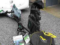 Electric Golf Cart and Bag [ Hillbilly ].