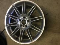 GENUINE BMW MV4 19 INCH REAR ALLOY WHEEL E90 E90 E92 E93