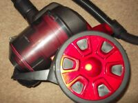 prolectrix bagless vacuum cleaner 1000 watts small/lightweight in very good clean condition
