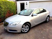 **1 PREV OWNER** 2010 VAUXHALL INSIGNIA EXC CDTI ECO FLEX SILVER 2.0 DIESEL