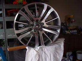 Range Rover Diamond cut 20 inch wheel Rim