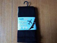 TRAVEL SOCKS for Plane,Train or Car. DVT UNISEX SIZE 4-7 - NEW.