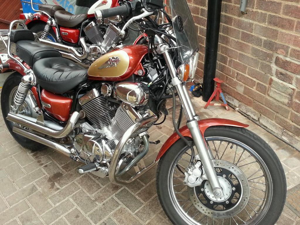 Yamaha virago 535 in heanor derbyshire gumtree for Yamaha clp 535 for sale
