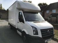 Volkswagen crafter Luton tail lift