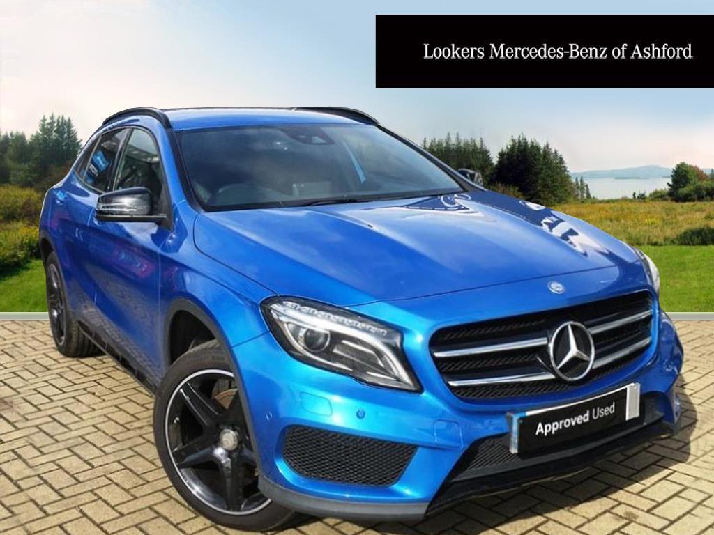 mercedes benz gla class gla 220 d 4matic amg line premium blue 2016 09 23 in ashford kent. Black Bedroom Furniture Sets. Home Design Ideas