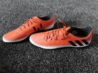 Red Addidas trainers (new)