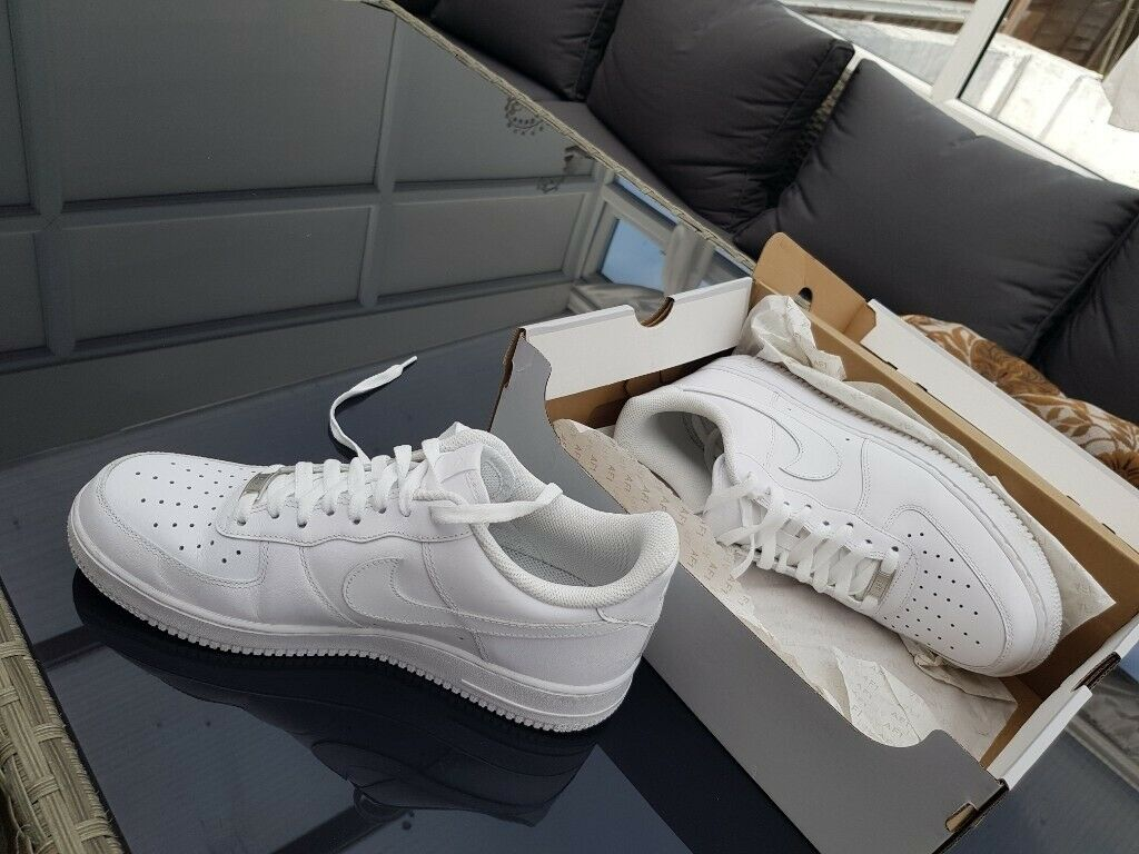 nouveau concept 80159 93441 White Nike air Force | in Mitcham, London | Gumtree