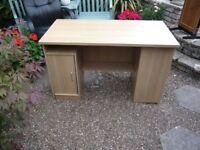desk in light teak