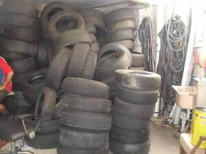 ASSORTED DAMAGED TYRES Currumbin Waters Gold Coast South Preview