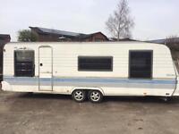 hobby 2001 twin wheel caravan SPARES OR REPAIRS