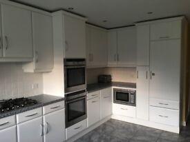 Large White Kitchen with Neff appliances