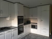 Large White Kitchen with Neff appliances