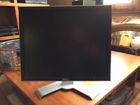 "Two (2) Dell UltraSharp 1908FPc 19"" LCD Monitors West London"