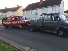 A.H.RESCUE Car & Light Commercial Breakdown & Recovery in Bristol and Surrounding Areas.