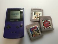 Nintendo Gameboy Color Console + 3 Games - Full Working Order - Retro Game Boy Fun For Kids & Adults