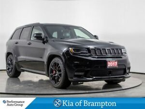 2017 Jeep Grand Cherokee SRT. LEATHER. V-8 HEMI. NAVI. HTD SEATS