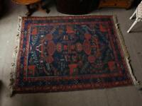 Antique handmade persian Afshar rug
