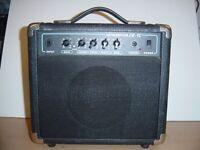 Portable electric guitar amp 15W
