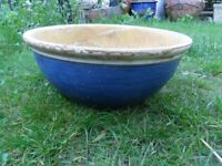 Ceramic Garden Pot Bowl with Drainage Hole-weighs 4kg,Collect