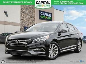 2016 Hyundai Sonata 2.4L SPORT TECH * Leather * Nav. * Heated St