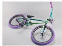 Harry main madmain green fuel bmx bike