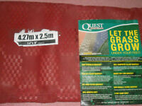 Quest New Breathable groundsheet pprox. 14 feet by 8.