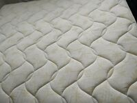 Super king mattress with divan bed base with four drawers