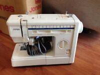 Jones sewing machine, good condition