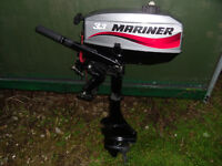 Mariner 3.3hp Two Stroke Outboard Engine