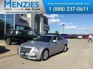 2011 Cadillac CTS 3.0L, AWD, Bluetooth, Leather, Sirius XM