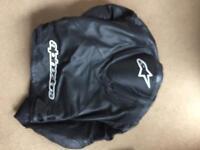 Alpinestar leather jacket size 44