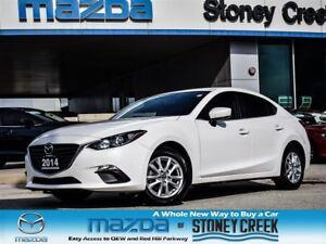 2014 Mazda MAZDA3 GS AUTO,NEW R/BRAKES+TINT, HEATED+B/UP, 1 OWNE