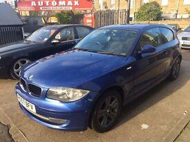 BMW 1 SERIES 2.0 118d SE 3dr 6 MONTHS FREE WARRANTY