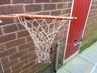 Official size bolt on basket ball net