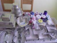 cake making tins