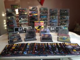 Eagle Moss Batman Automobilia Collection x 49 Cars + 2 Special Edition