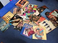 Large collection of 100 vinyl albums