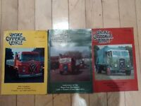 Vintage commercial vehicle magazines X 3