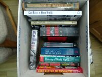 Bundle of ten (10) books on the Second World War and its Battles