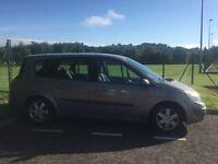7 seater Renault grand scenic 54 reg