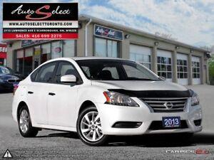 2013 Nissan Sentra ONLY 33K! **SV MODEL**SUNROOF**BLUETOOTH**...