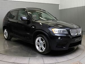 2014 BMW X3 XDRIVE M SPORT MAGS TOIT OUVRANT CUIR West Island Greater Montréal image 3