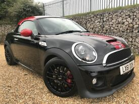 MINI Coupe 1.6 John Cooper Works 3dr £0 DEPOSIT FINANCE AVAILABLE.